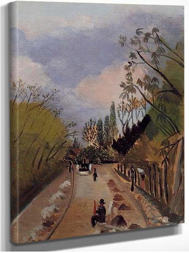 Avenue De L Observatoire 1898 By Henri Rousseau