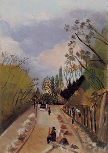 Avenue De L Observatoire 1898 By Henri Rousseau Art Reproduction from Wanford