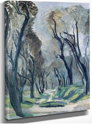 Avenue Of Olive Trees 1952 By Henri Matisse