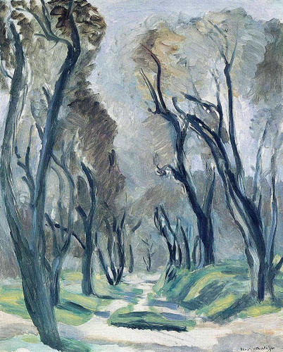 Avenue Of Olive Trees 1952 By Henri Matisse Art Reproduction from Wanford