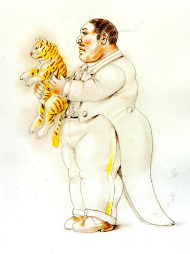Baby Tiger By Fernando Botero Art Reproduction from Wanford