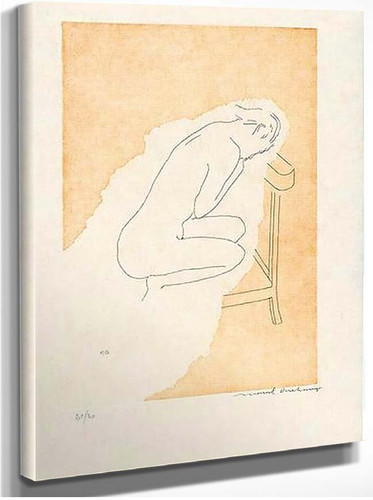 Bare Stripped Bride 1968 By Duchamp Marcel