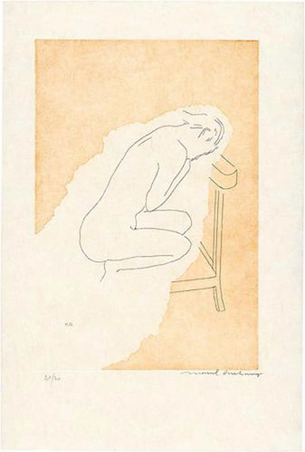 Bare Stripped Bride 1968 By Duchamp Marcel Art Reproduction from Wanford