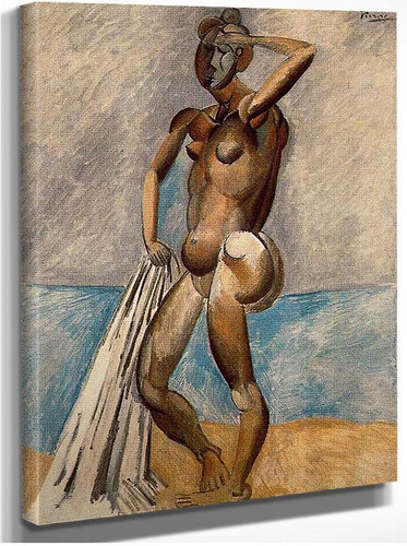 Bather 1908 By Pablo Picasso