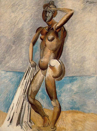 Bather 1908 By Pablo Picasso Art Reproduction from Wanford