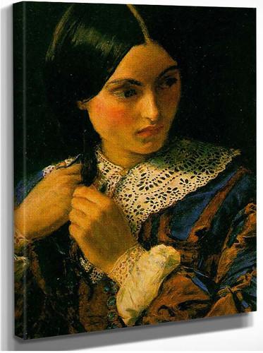 Beauty By John Everett Millais