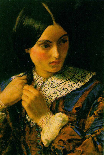 Beauty By John Everett Millais Art Reproduction from Wanford