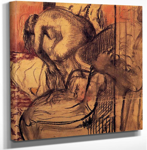 After The Bath 8 By Edgar Degas Art Reproduction from Wanford.
