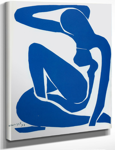 Blue Nude 1 By Henri Matisse