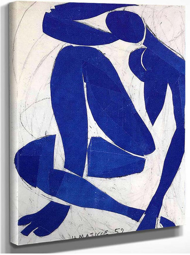 Blue Nude Iv 1952 By Henri Matisse