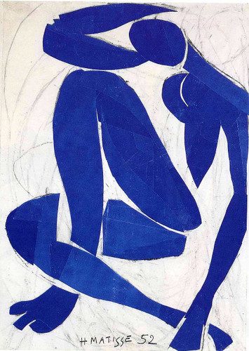 Blue Nude Iv 1952 By Henri Matisse Art Reproduction from Wanford