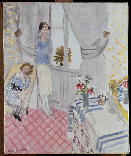 Boudoir 1921 By Henri Matisse Art Reproduction from Wanford