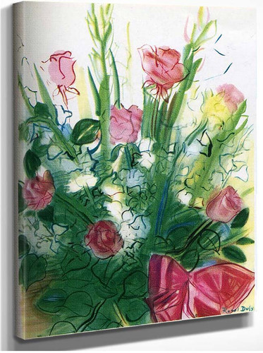 Bouquet Of Roses By Dufy Raoul