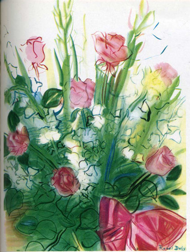 Bouquet Of Roses By Dufy Raoul Art Reproduction from Wanford
