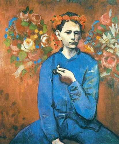 Boy With A Pipe1 By Pablo Picasso Art Reproduction from Wanford