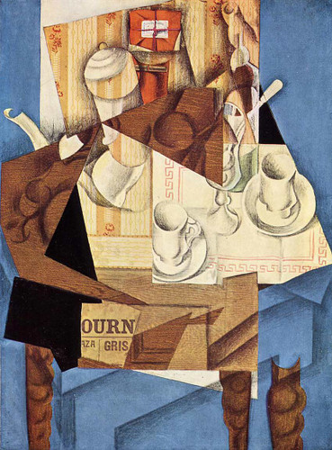 Breakfast 1914 By Juan Gris Art Reproduction from Wanford