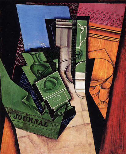 Breakfast 1915 By Juan Gris Art Reproduction from Wanford