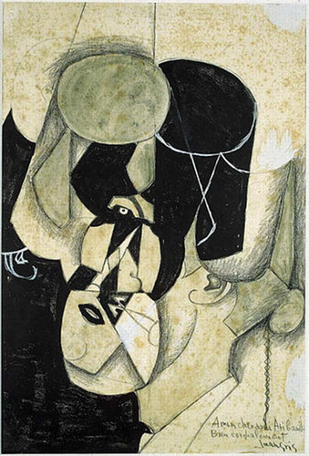Bullfighter 1913 By Juan Gris Art Reproduction from Wanford