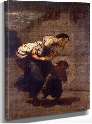 Burden By Daumier Honore