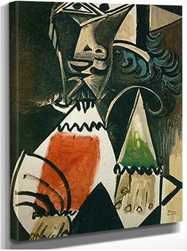 Bust Of A Man 3 By Pablo Picasso