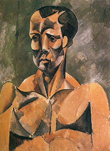 Bust Of A Man By The Athlete By By Pablo Picasso Art Reproduction from Wanford