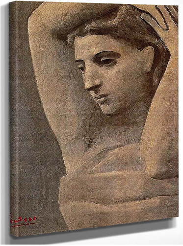 Bust Of A Woman Arms Raised 1922 By Pablo Picasso