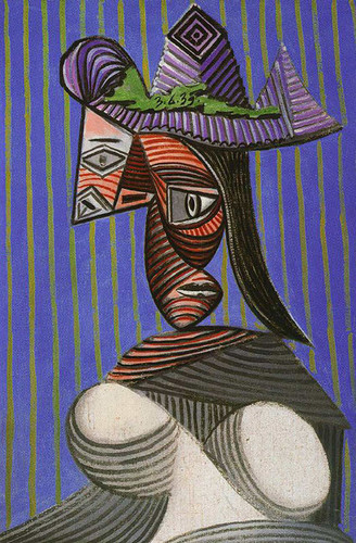 Bust Of Woman 1939 By Pablo Picasso Art Reproduction from Wanford