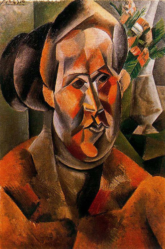 Bust Of Woman With Flowers By Pablo Picasso Art Reproduction from Wanford