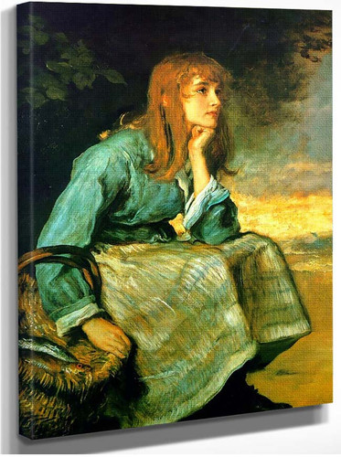 Caller Herrin By John Everett Millais