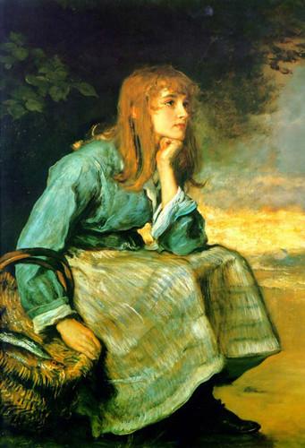 Caller Herrin By John Everett Millais Art Reproduction from Wanford