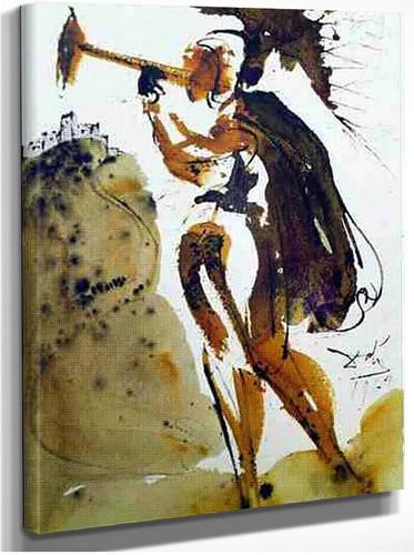 Canita Tuba In Sion Joel 2 1 1967 By Salvador Dali