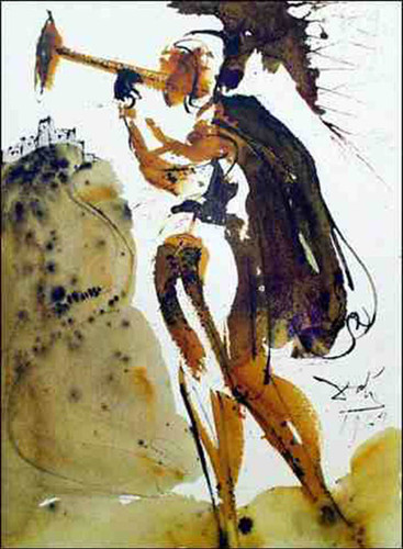 Canita Tuba In Sion Joel 2 1 1967 By Salvador Dali Art Reproduction from Wanford