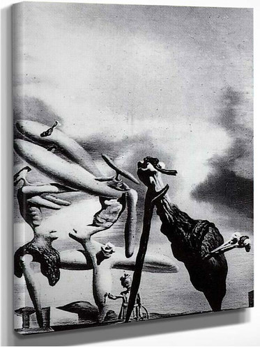 Cannibalism Of The Praying Mantis Of Lautreamont By Salvador Dali