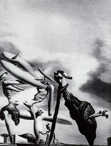 Cannibalism Of The Praying Mantis Of Lautreamont By Salvador Dali Art Reproduction from Wanford