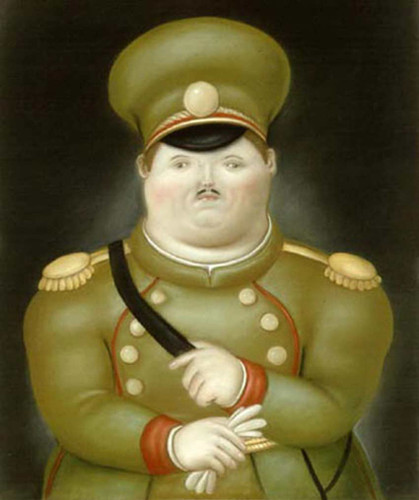Capitan By Fernando Botero Art Reproduction from Wanford