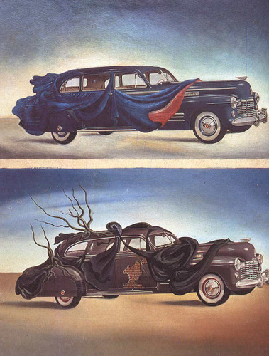 Car Clothing Clothed Automobile By Salvador Dali Art Reproduction from Wanford