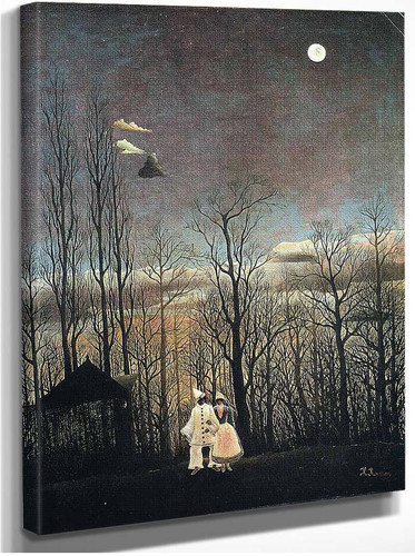 Carnival Evening 1886 By Henri Rousseau