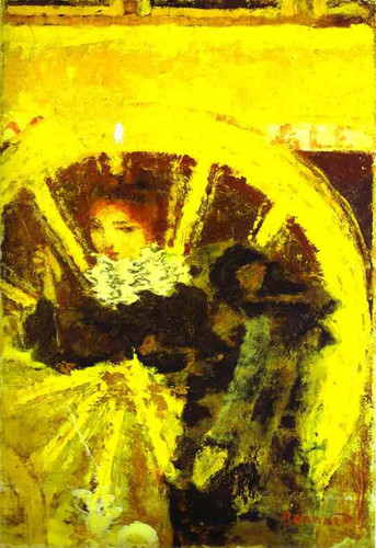 Carriage Horse By Pierre Bonnard Art Reproduction from Wanford