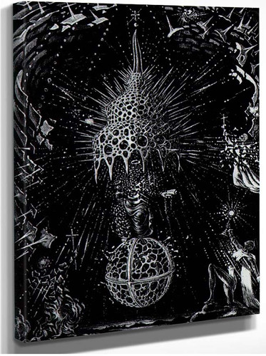 Celestial Coronation By Salvador Dali