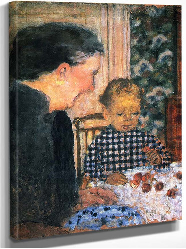 Child Eating Cherries 1895 By Pierre Bonnard