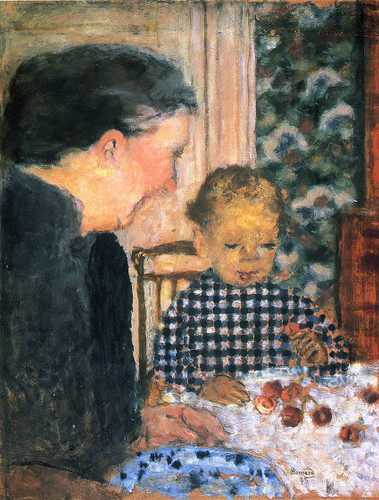 Child Eating Cherries 1895 By Pierre Bonnard Art Reproduction from Wanford