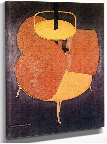Chocolate Grinder 1914 By Duchamp Marcel
