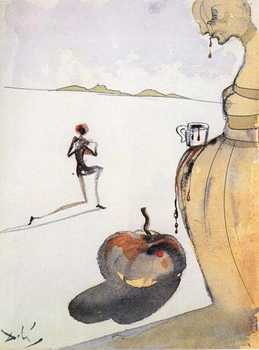 Chocolate By Salvador Dali Art Reproduction from Wanford