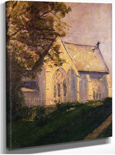 Church At Blainville 1902 By Duchamp Marcel