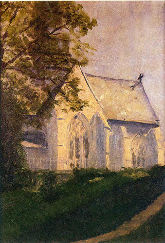 Church At Blainville 1902 By Duchamp Marcel Art Reproduction from Wanford