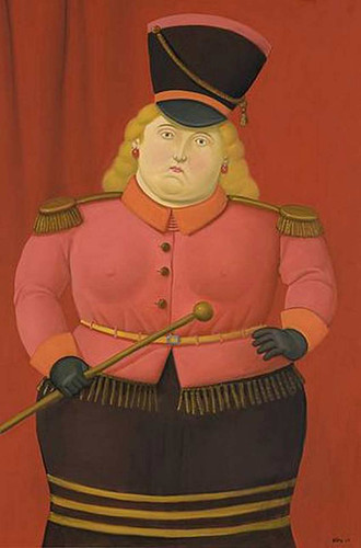 Circus Woman2 By Fernando Botero Art Reproduction from Wanford