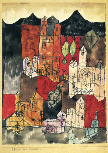 City Of Churches 1918 By Paul Klee Art Reproduction from Wanford
