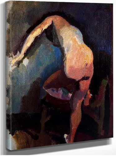 Claudine From Back 1906 By Dufy Raoul