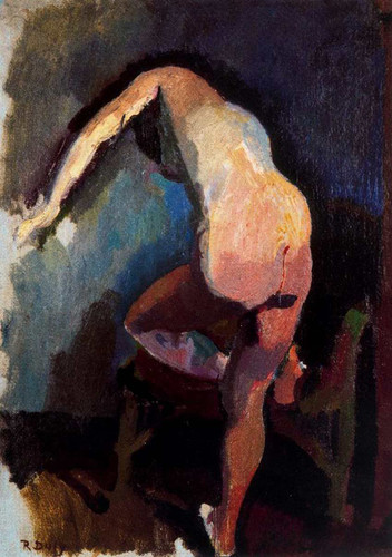 Claudine From Back 1906 By Dufy Raoul Art Reproduction from Wanford