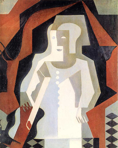 Clown 1919 By Juan Gris Art Reproduction from Wanford